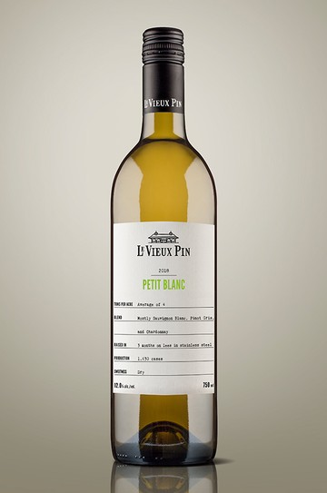 1 Case of 2018 Petit Blanc 375ml